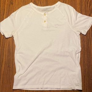 American Eagle Two Button Up Tee Shirt